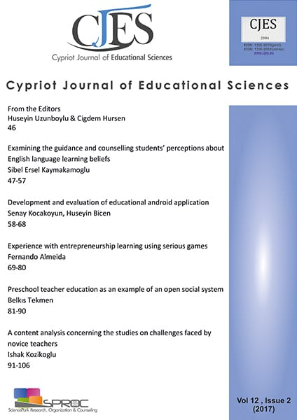 Preschool Teacher Education As An Example Of Open Social System